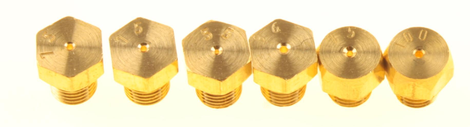 GF-196 комплект жиклеров 6шт