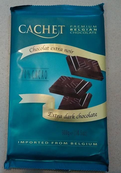 Cachet Extra Dark 70%(фиолетовій)  300гр