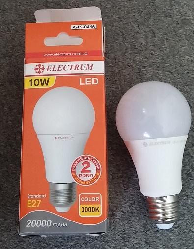 Лампочка E27 10w