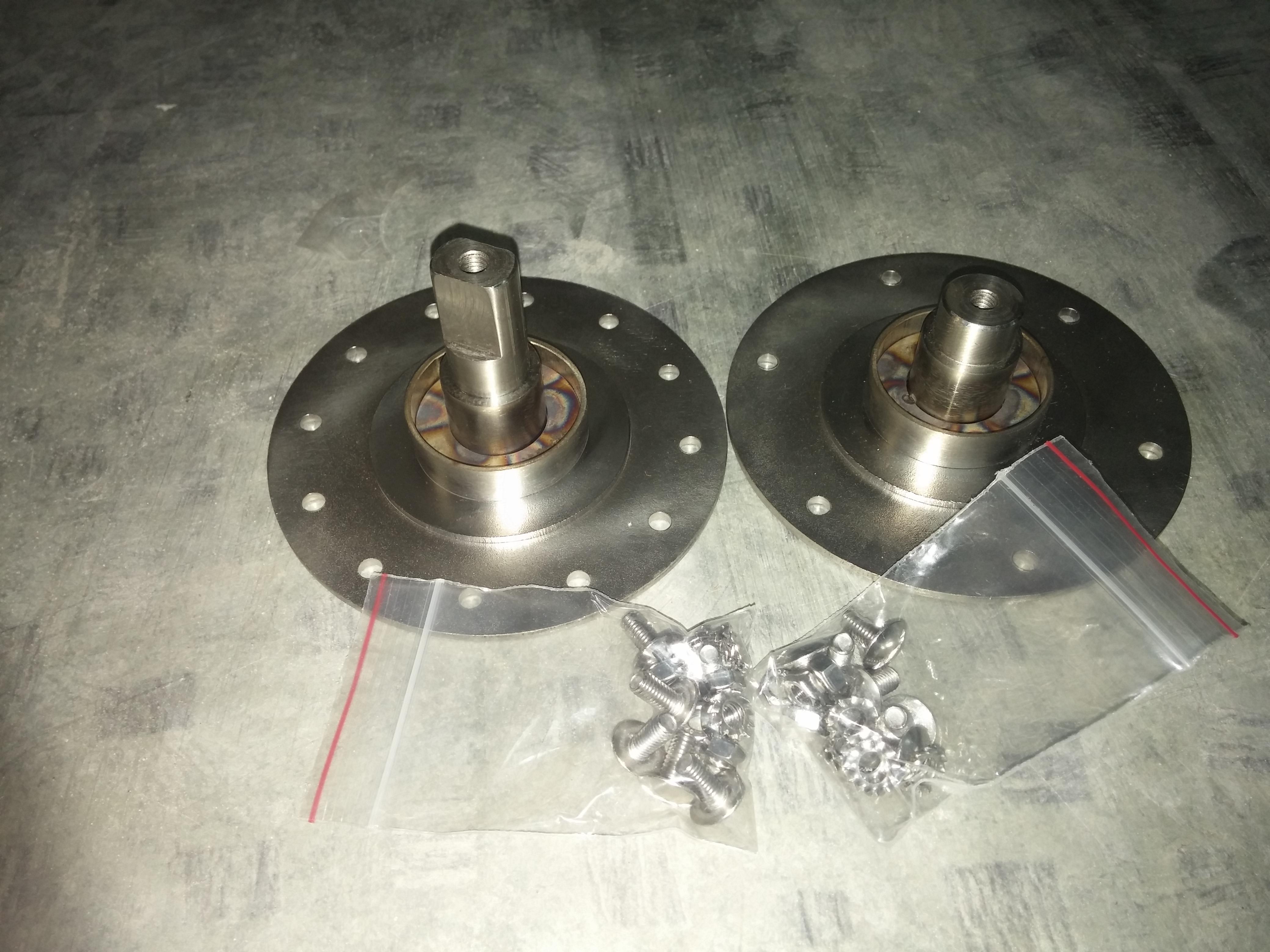 ZN-003 комплект 2шт  с крепежом