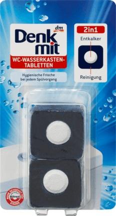 антибакт. таблетки для сливн. бачка Wasserkasten-tabletten