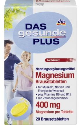 Magnesium Brausetabletten 400mg