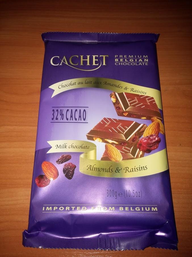 Cachet almond & raisins Миндаль+изюм( 32% 300гр