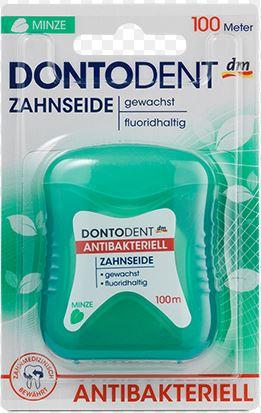 Antibakterial floss