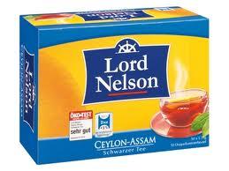 пакетики Lord Nelson 50пакетиков ( желтая)